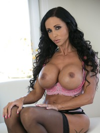 Big Boobed MILF Jewels Jade In Sexy Black Stockings 03
