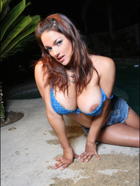 Monica Mendez Flashes Her Huge Jugs 10