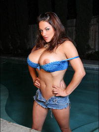 Monica Mendez Flashes Her Huge Jugs 13