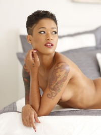 Hot Tattooed Ebony Babe 04