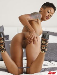Hot Tattooed Ebony Babe 09