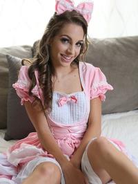 Lovely Doll Kimmy Granger Strips Off Her Costume 00