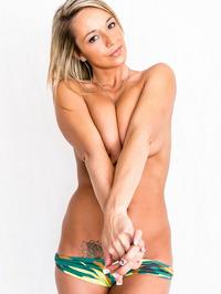 Nikki Sims In Camo Bikini 05