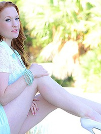 Sexy Redhead Adult Model Lucy Ohara 03