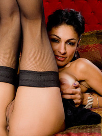 Persia Pele In Stockings Shows Fine Ass 06