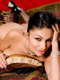 Persia Pele In Stockings Shows Fine Ass 17