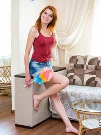 Lovely Redhead Babe Nansy N 02