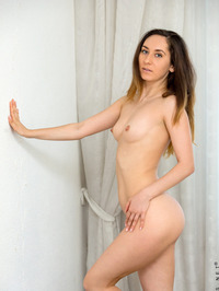 Sabrine Gently Fondled Her Pussy 20
