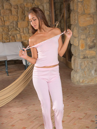 Anastassia Delgado Drop Off Her Lacy Panties 02