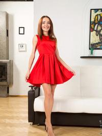 Nikka In Red Dress 00
