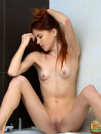 Katya Blue Naked In Shower 06