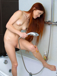 Katya Blue Naked In Shower 13