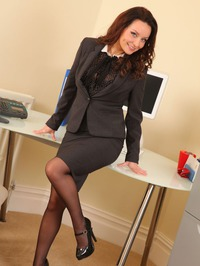 Carla Sexy Body In Black Stockings 00
