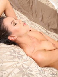 Sexy Brunette UK Babe Nikolart Strips Off Her Clothes 12