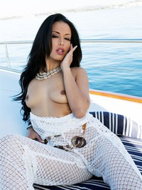 Layla Sin Strips Naked On The Deck 11