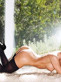 Elena Romanova So Sexy In A Nylon Chemise 12