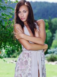 Michaela Isizzu Sundress And Panties 01