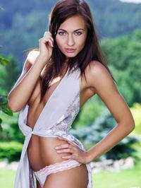 Michaela Isizzu Sundress And Panties 03