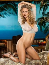 Shanna McLaughlin Posing Naked Outside 07