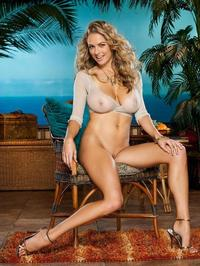 Shanna McLaughlin Posing Naked Outside 12
