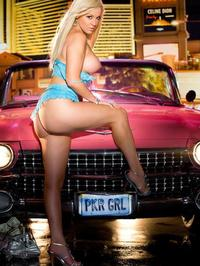 Jennifer Leigh Pink Car 07