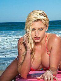 Kari Nautique Sexy Bikini Tease 10