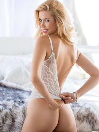 Kennedy Summers In Sexy See-through 12