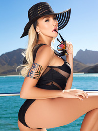 Khloe Terae In Hot On The Yacht 08