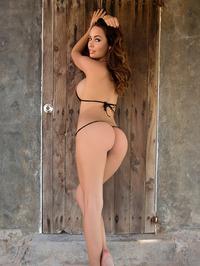 Busty Adrienn Levai In Skimpy Bikini 04