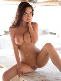 Busty Adrienn Levai In Skimpy Bikini 15