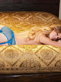 Alana Wolfe Poses In Sexy Lingerie 07