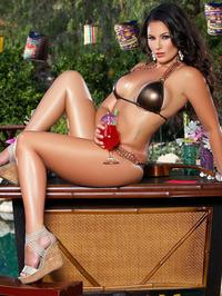 Candace Leilani Skimpy Bikini 05