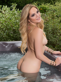 Richelle Taylor Outdoor Jacuzzi 18