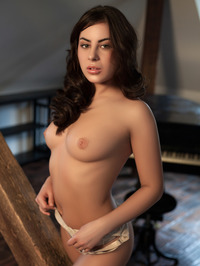 Nikki Waine Naked By The Piano 05