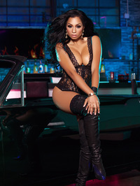 Karlie Redd Sexy Boots And Corset 00