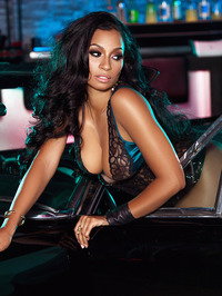 Karlie Redd Sexy Boots And Corset 03