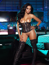 Karlie Redd Sexy Boots And Corset 10