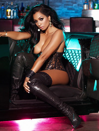 Karlie Redd Sexy Boots And Corset 13