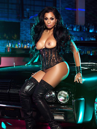 Karlie Redd Sexy Boots And Corset 14