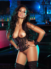 Karlie Redd Sexy Boots And Corset 16