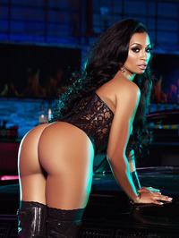 Karlie Redd Sexy Boots And Corset 18