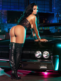 Karlie Redd Sexy Boots And Corset 19