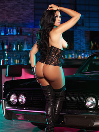 Karlie Redd Sexy Boots And Corset 20
