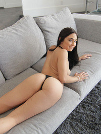 Crystal Rae Strips On A Couch 09