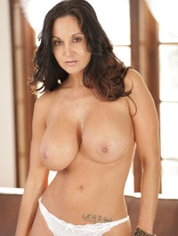 Ava Addams Stripping On Couch 11