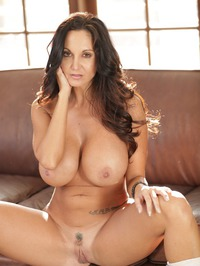 Ava Addams Stripping On Couch 17
