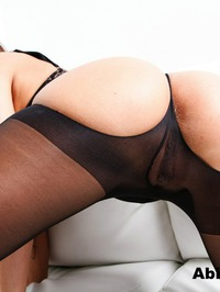 Sexy Abigail In Stockings 08