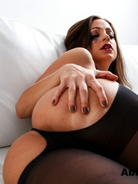 Sexy Abigail In Stockings 13