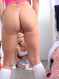 Tylo Duran Makes Lesbian Love With Her Stepmom 02