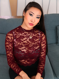 Sharon Lee Sexy Asian Babe Strips 01